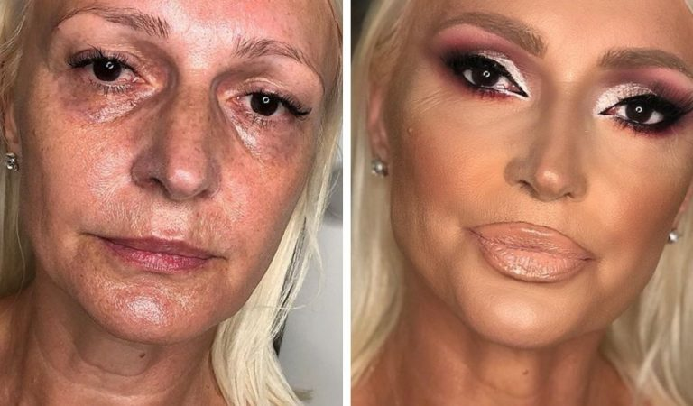 Ce make-up artist démontre comment le maquillage transforme un visage (16 photos)