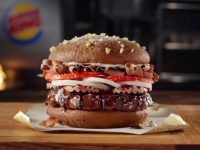 Un Whooper au Chocolat par Burger King.