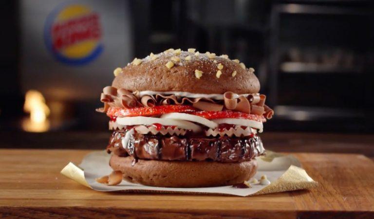 Burger King lance le Whooper au chocolat, un hamburger chocolaté qui fait fureur