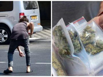 Du cannabis livré à Tel Aviv par Green Drone.