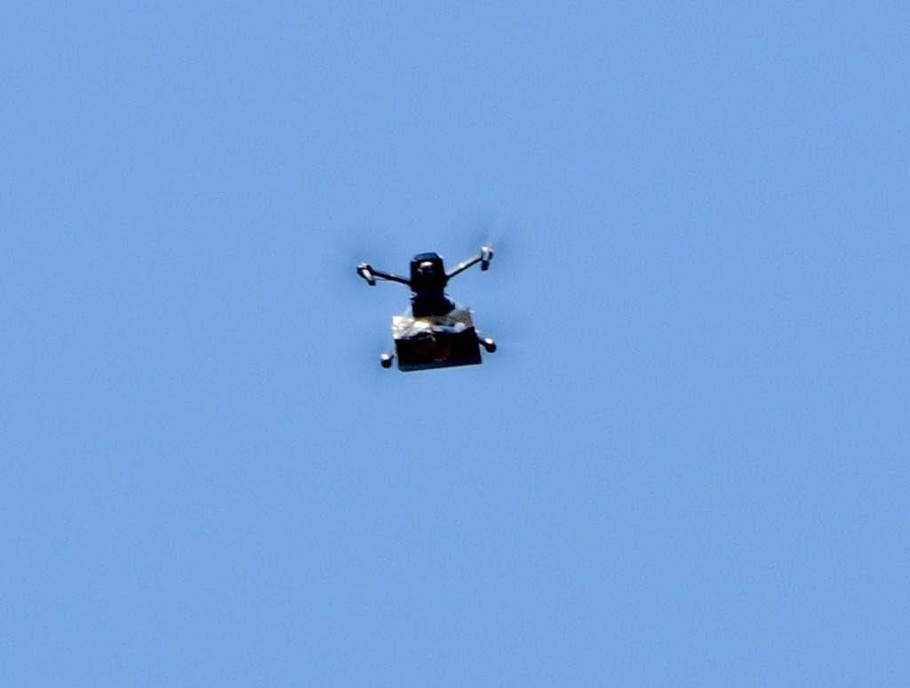 Un drone livre du cannabis à Tel Aviv.