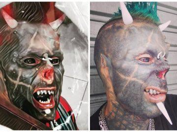 Le Satan Humain sans son nez.