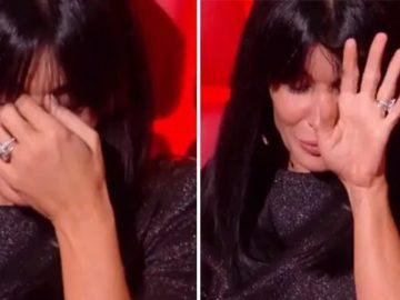 Jenifer en larmes dans The Voice Kids après la prestation d'Antoine.