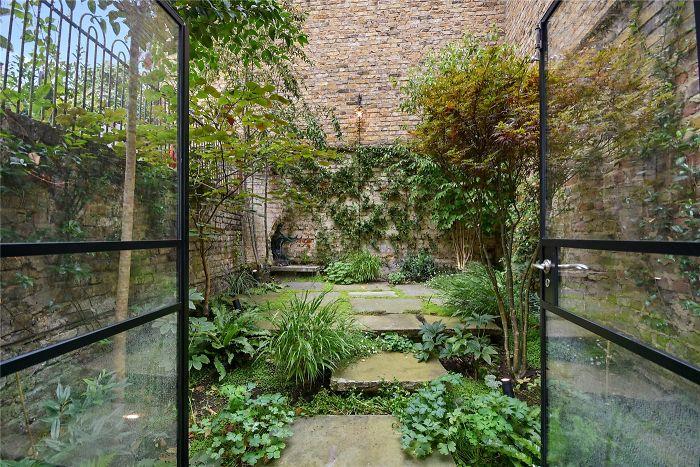 Londres jardin maison très exiguë