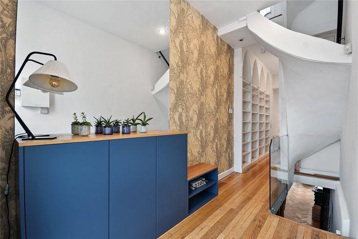 Espace dressing et salles d'eau maison fine Londres