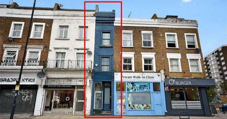 Londres maison la plus étroite