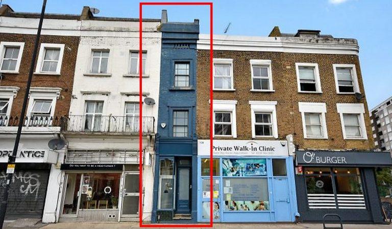 La maison la plus étroite de Londres est en vente pour 1,3 millions de dollars