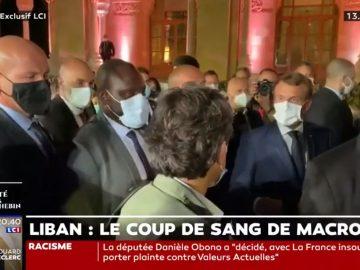 Emmanuel Macron s'emporte contre Georges Malbrunot, journaliste du Figaro.