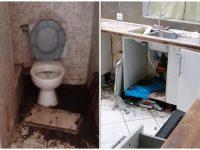 L'appartement est retrouvé dans un état catastrophique