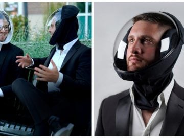 """Le casque """"air' de MicroClimate."""