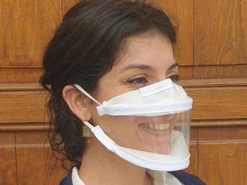 Des masques transparents et inclusifs.
