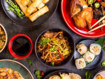Un restaurant chinois demande à ses clients de se peser.