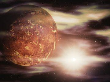 Du gaz pouvant provenir d'une forme de vie détecté sur Venus.
