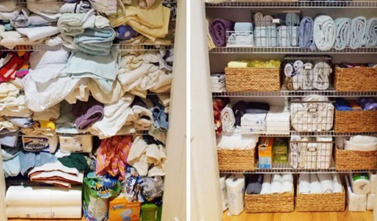 30 astuces de rangements pour en finir avec le désordre à la maison !