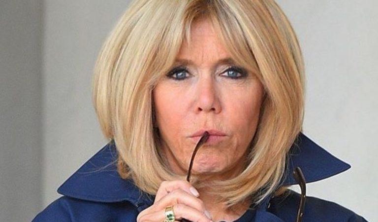 Brigitte Macron habillée en Balmain : la Première dame toujours aussi chic