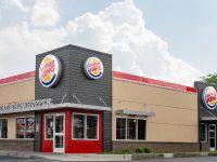 La façade d'un restaurant Burger King