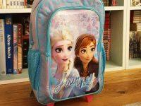 Un sac à dos la Reine des Neiges.
