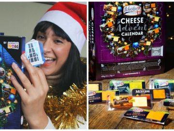 Le calendrier de l'avent aux fromages 2020
