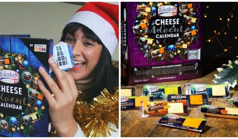 Le calendrier de l'avent 2020 va plaire aux fans de fromages !
