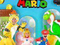 Déguisements de Super Mario.