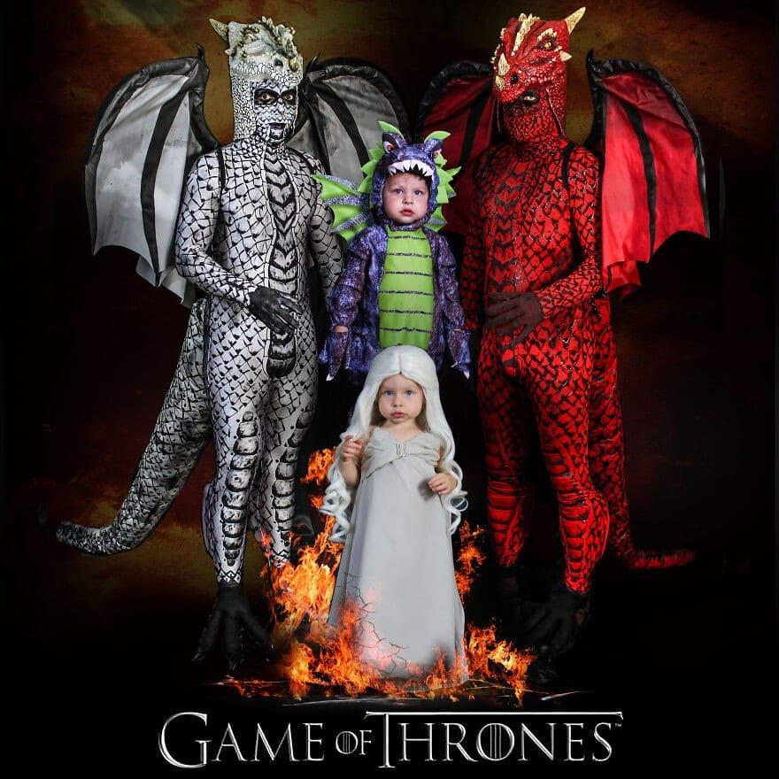 Déguisements de Game of Thrones.