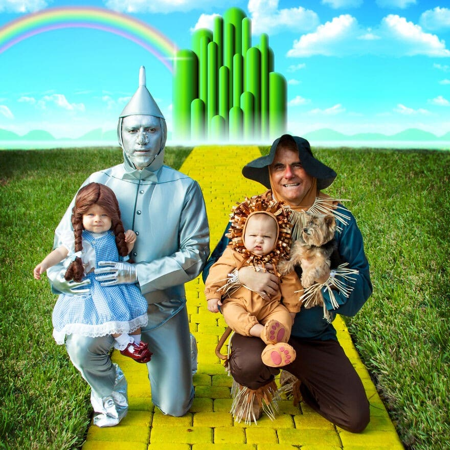 Déguisements du Magicien d'Oz.