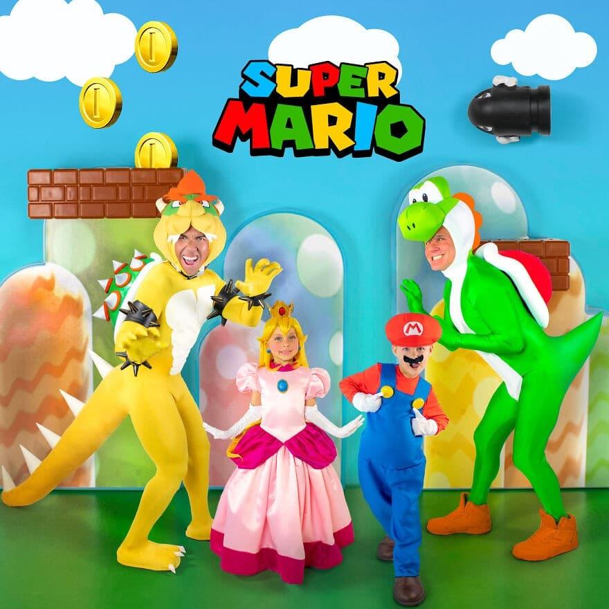 Déguisements de Super Mario