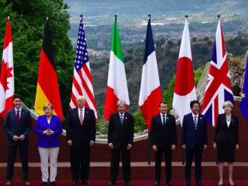 La photo du sommet du G7 en 2018