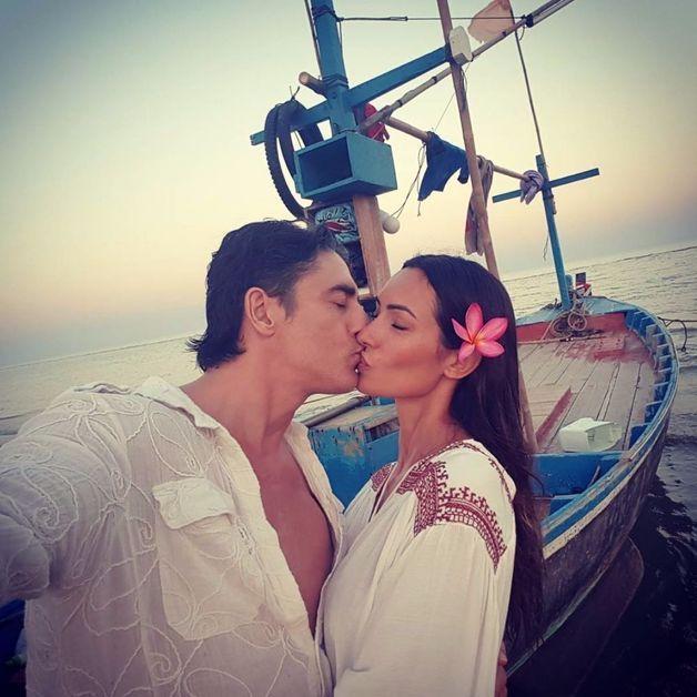 Grégory Basso et sa femme