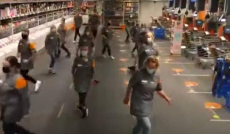 Belgique : Les employés d'un Colruyt font le buzz grâce au challenge 'Jerusalema'