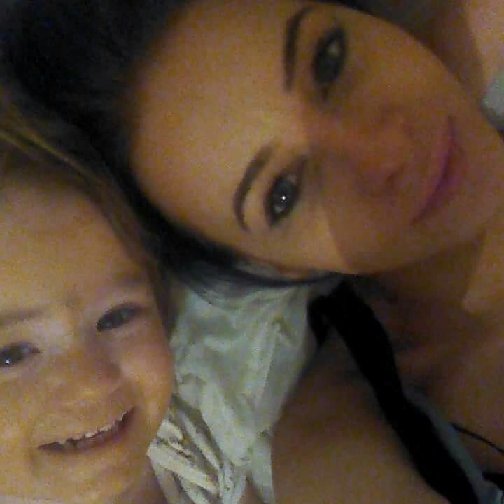 Louise Hosie et sa fille Summer.