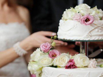 La scène de la gifle s'est produite au moment de déguster le gâteau du mariage