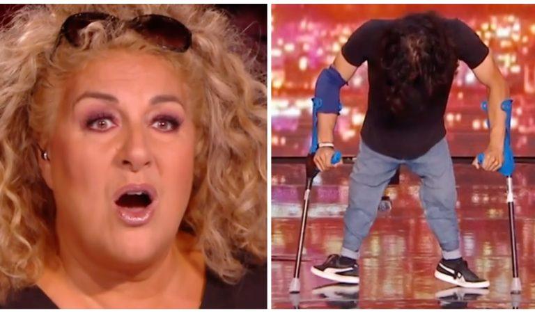 Un danseur handicapé  bouleverse le jury de « La France a un incroyable talent » (vidéo)