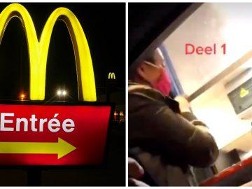 Un drive McDonald's.