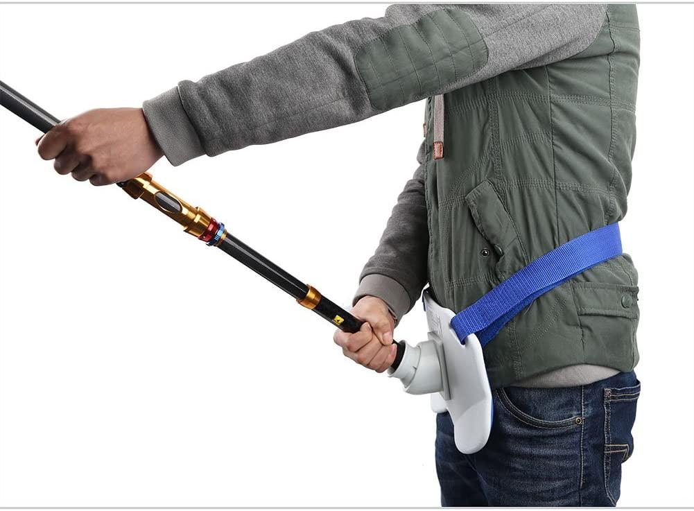 ceinture support de canne à pêche