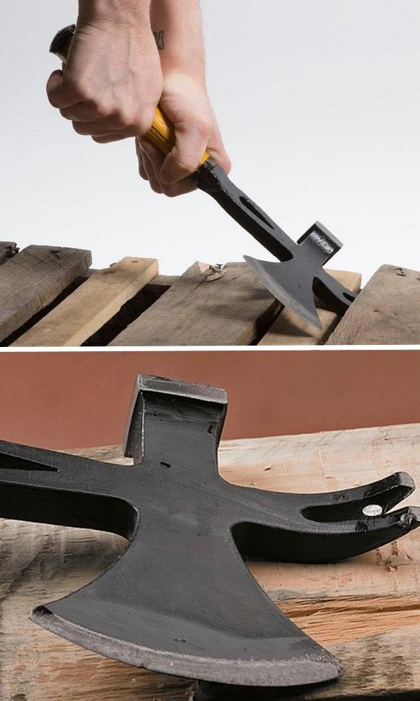 outil combinés hâche marteau décloueuse