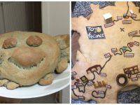 Des pains aux formes originales.