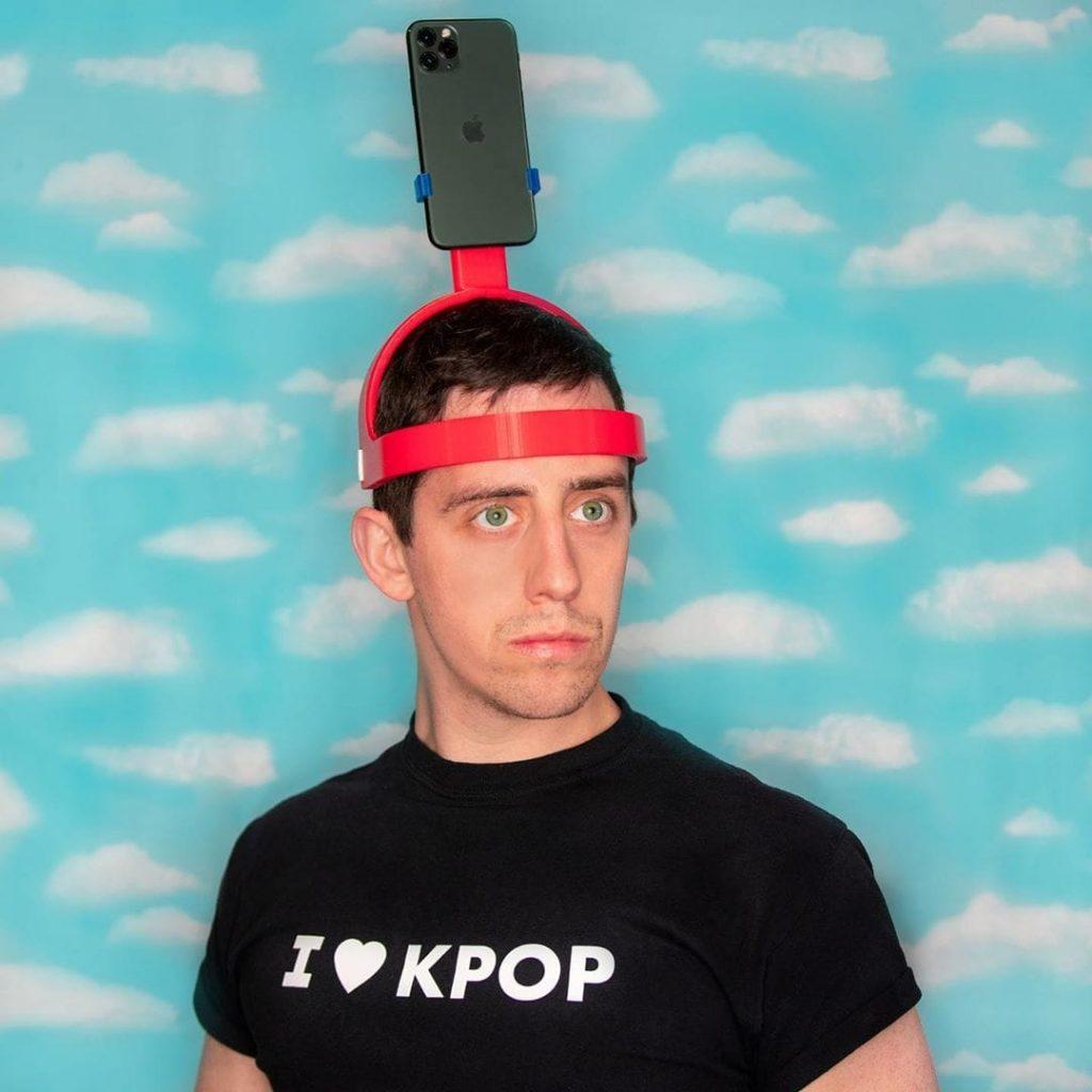 Un casque porte iPhone