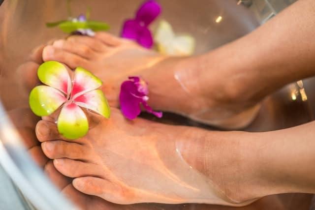 erreur douche négliger pied