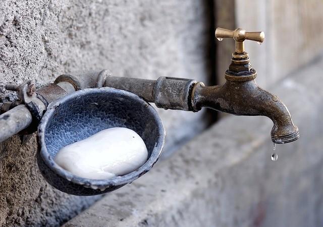 erreur douche laisser savon fondre