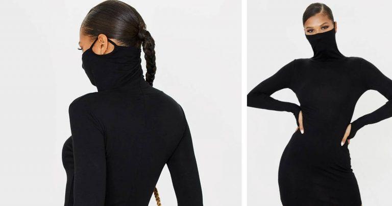 La robe masque noire de Pretty Little Things