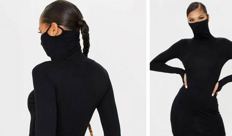 Une robe « masque de protection » que tout le monde s'arrache est déjà sold-out en moins de 24h