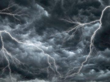 Une tempête.
