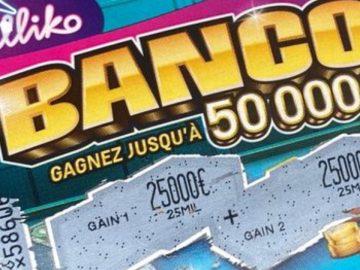Ticket à gratter Banco.
