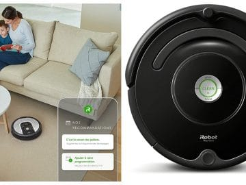 Irobot roomba sur amazon