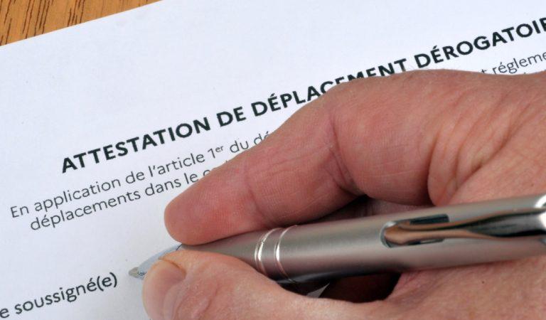 Côtes-d'Armor : il écrit sur son attestation qu'il veut « péter la gueule à un mec »