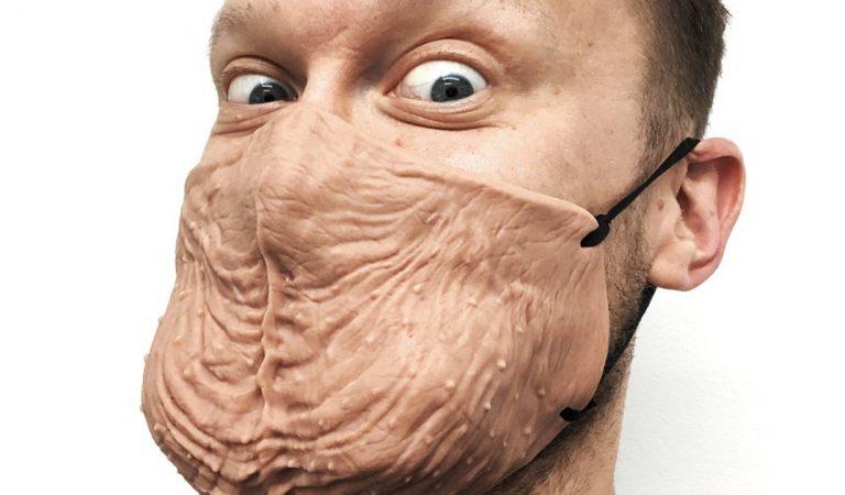 Le BallBag Mask : un masque en peau de couilles à porter en toute décontraction