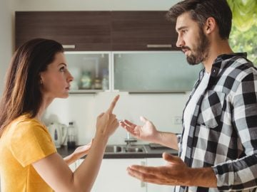 Un couple qui se dispute