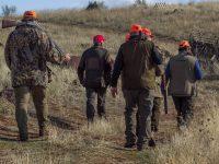 Des chasseurs
