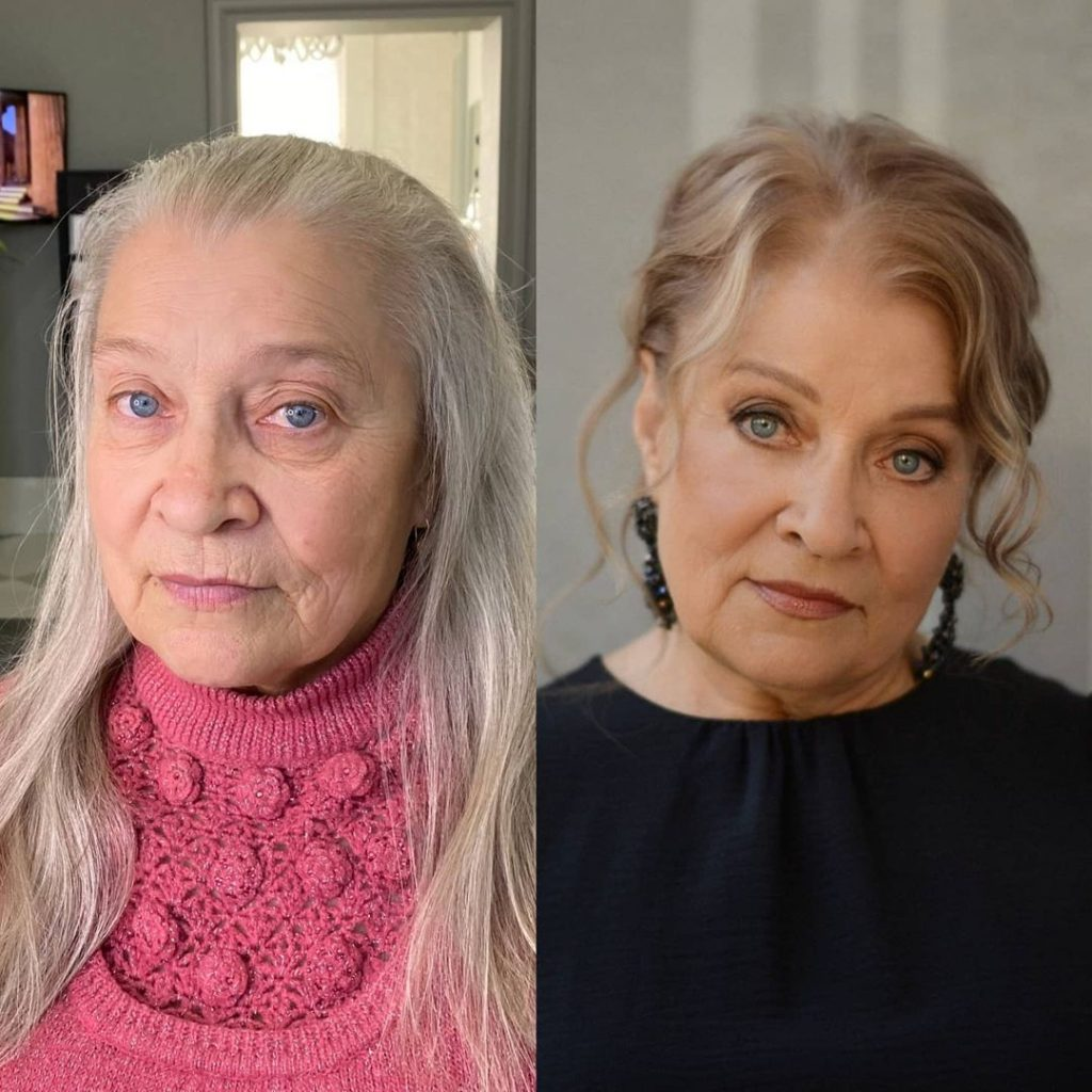 Maquillage et relooking glamour